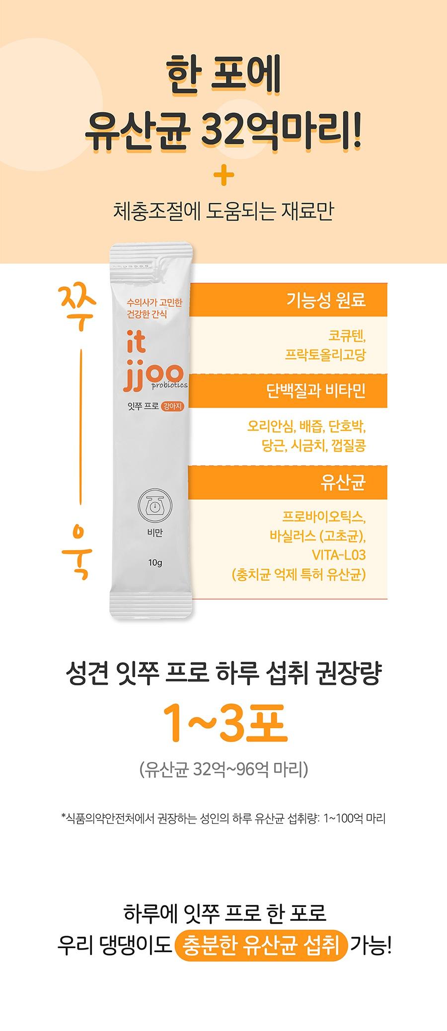 it 잇쭈 프로 도그 체중관리 특대용량 (8개입*8개)-상품이미지-3